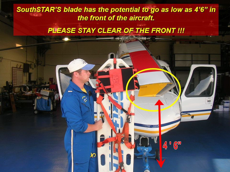 PLEASE STAY CLEAR OF THE FRONT !!!