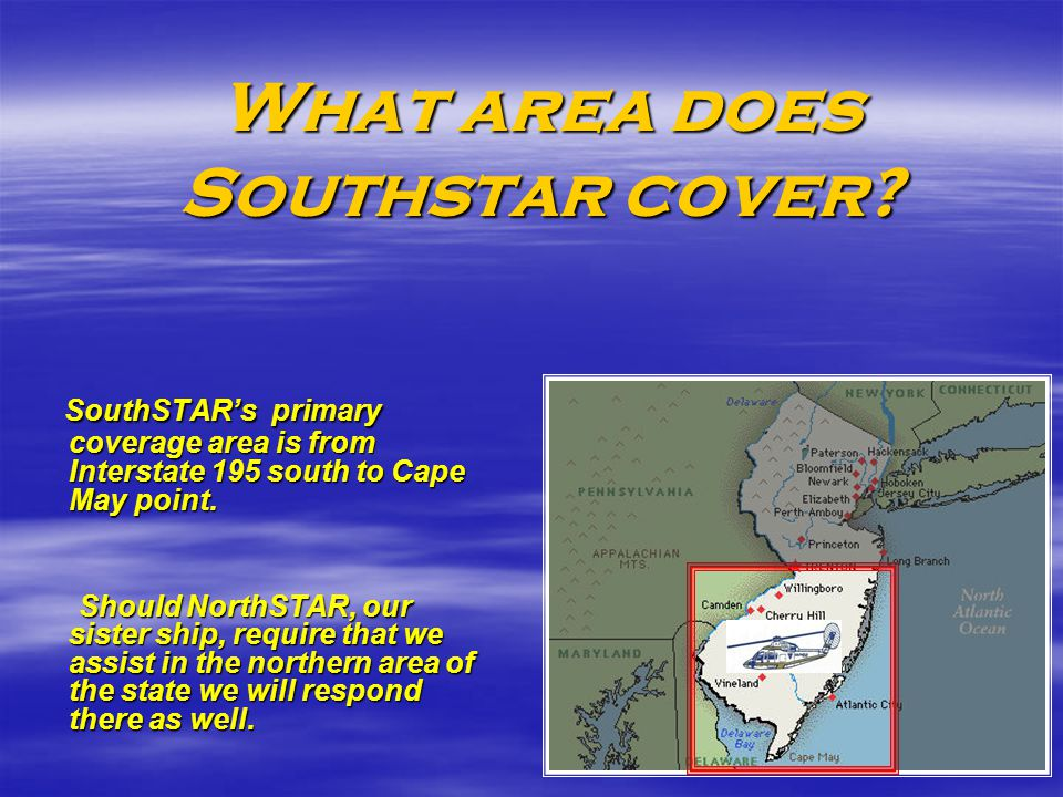 What area does Southstar cover