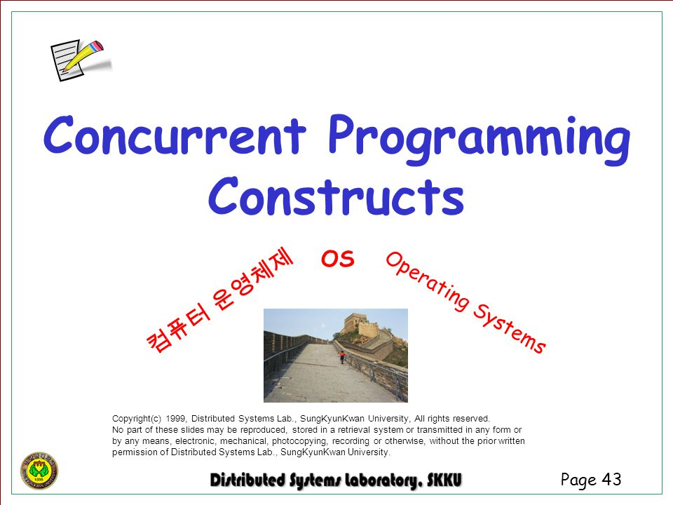 Concurrent Programming Constructs
