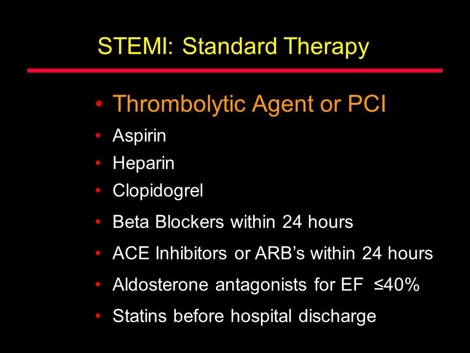 STEMI: Standard Therapy