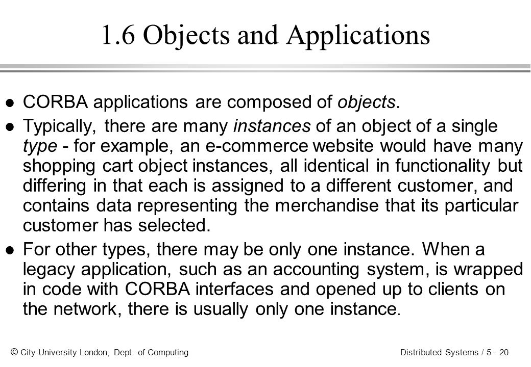 1.6 Objects and Applications