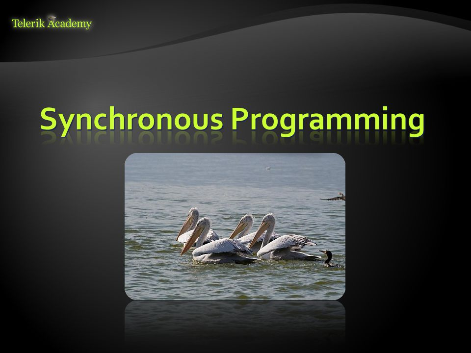 Synchronous Programming