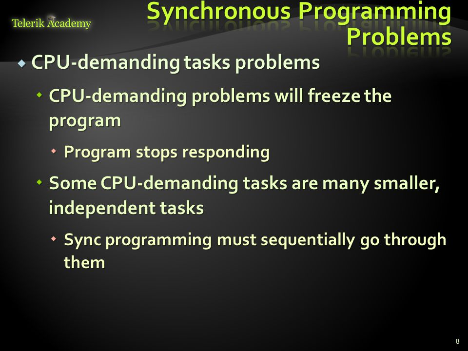 Synchronous Programming Problems