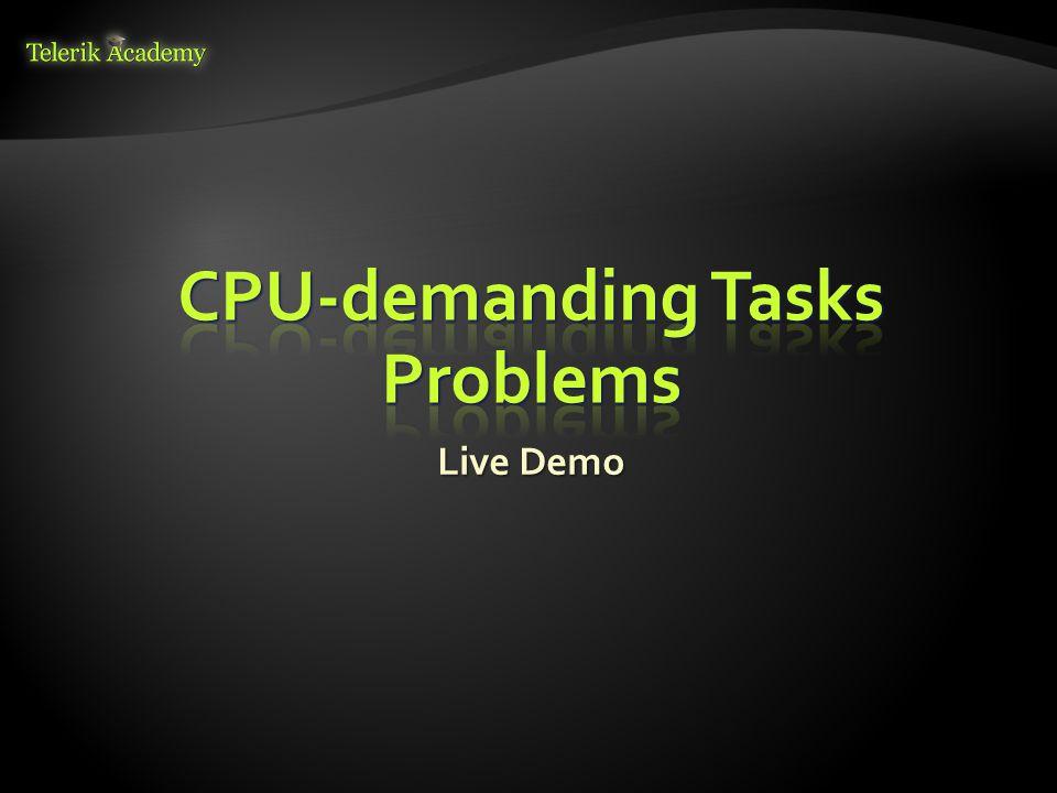 CPU-demanding Tasks Problems