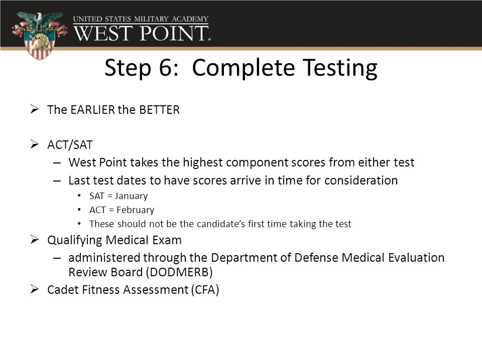 Step 6: Complete Testing