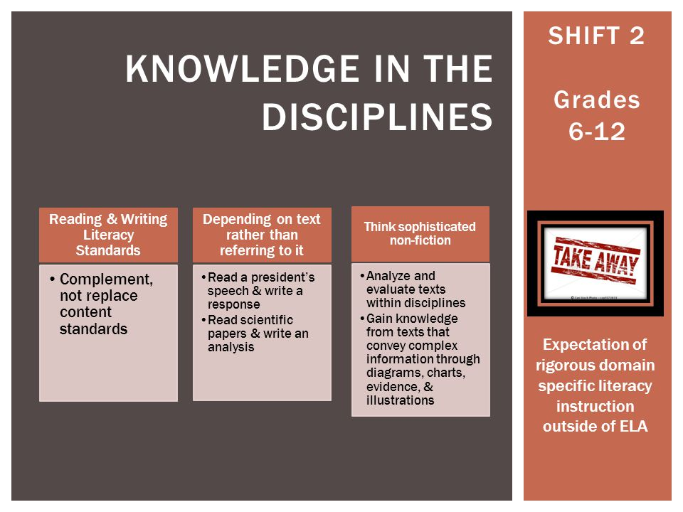 Knowledge in the disciplines