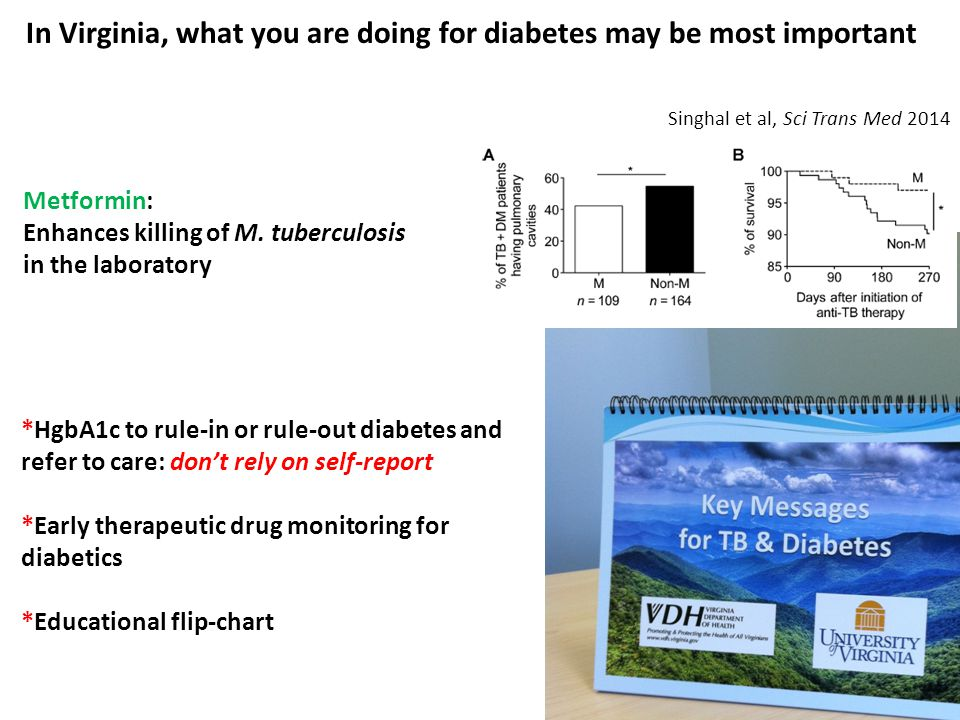 In Virginia, what you are doing for diabetes may be most important
