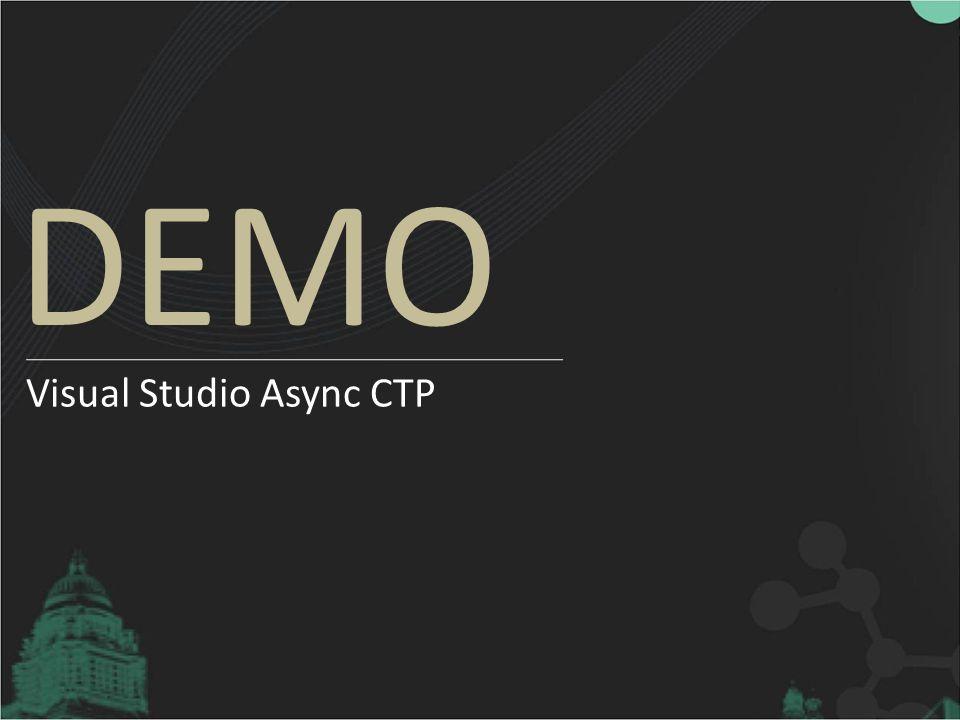 Visual Studio Async CTP