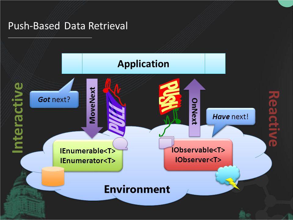 Push-Based Data Retrieval