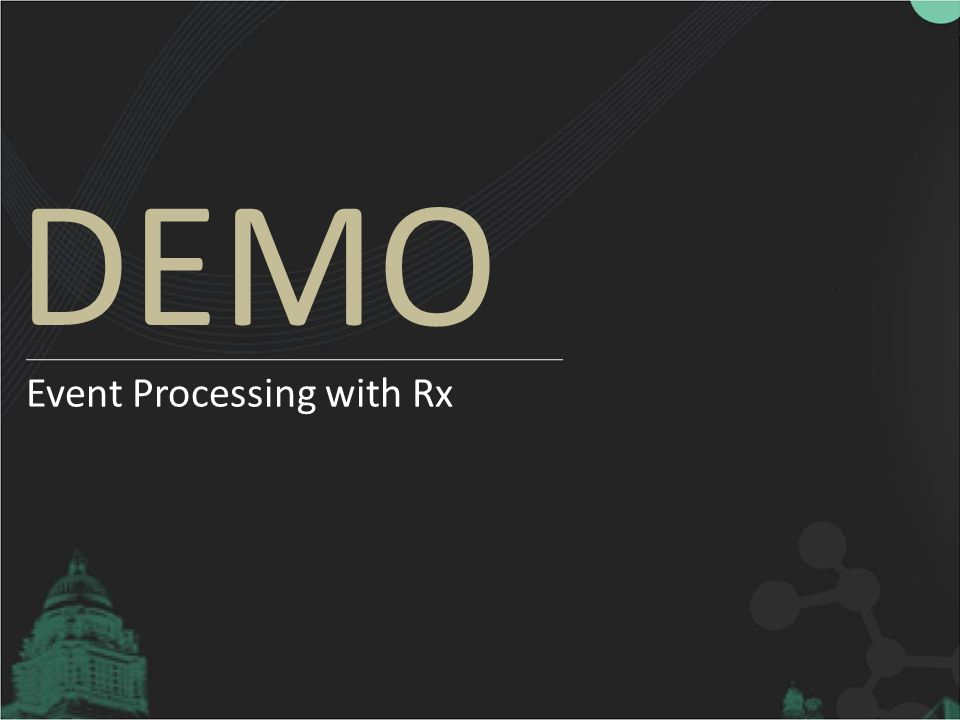 Event Processing with Rx