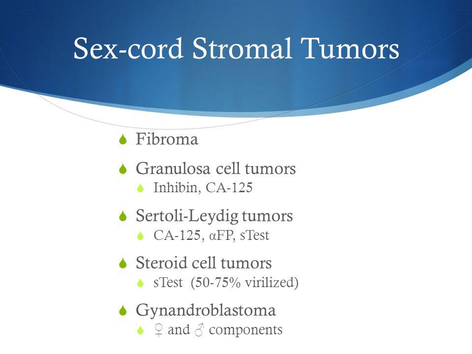 Sex-cord Stromal Tumors