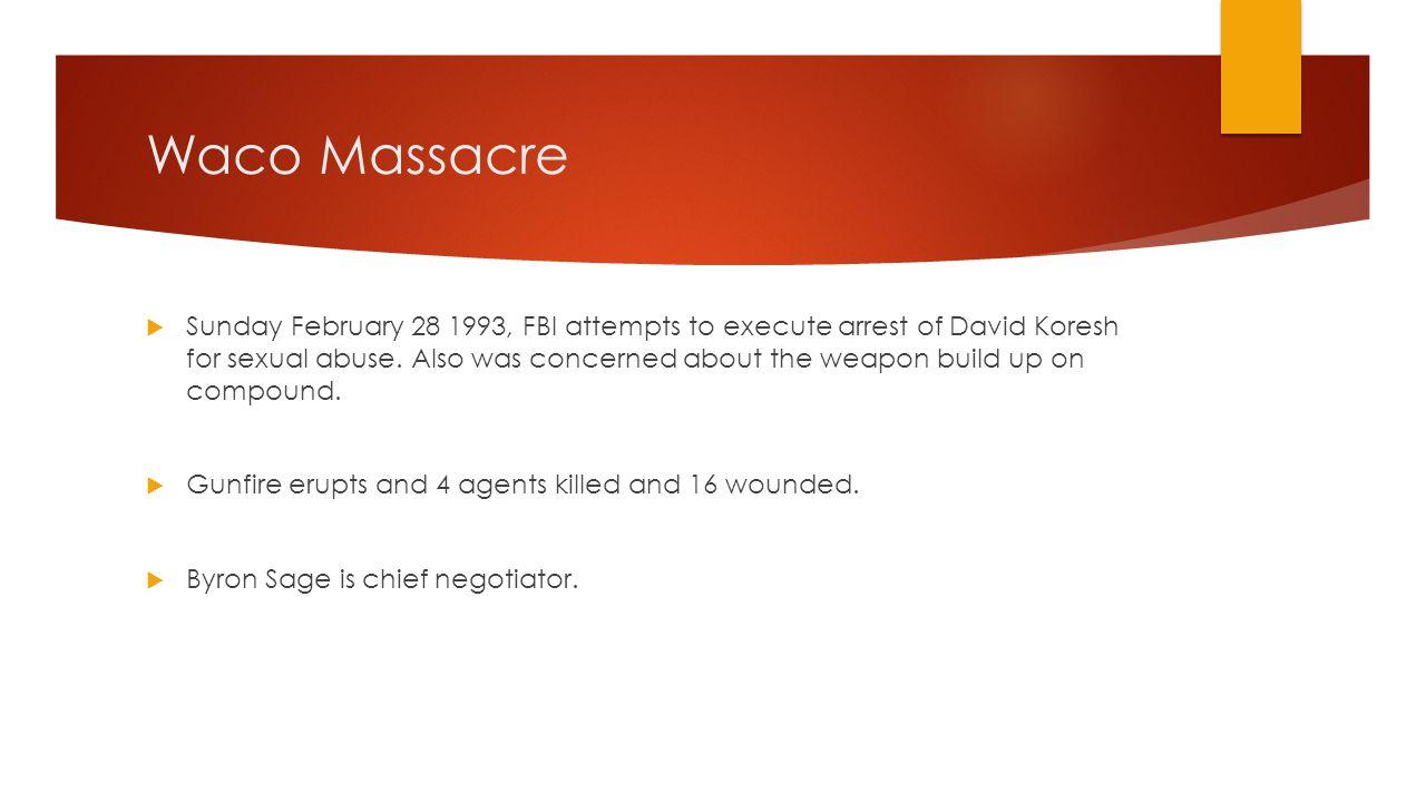 Waco Massacre
