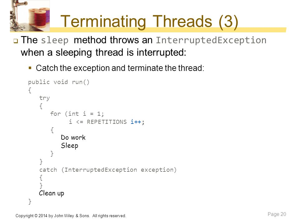 Terminating Threads (3)