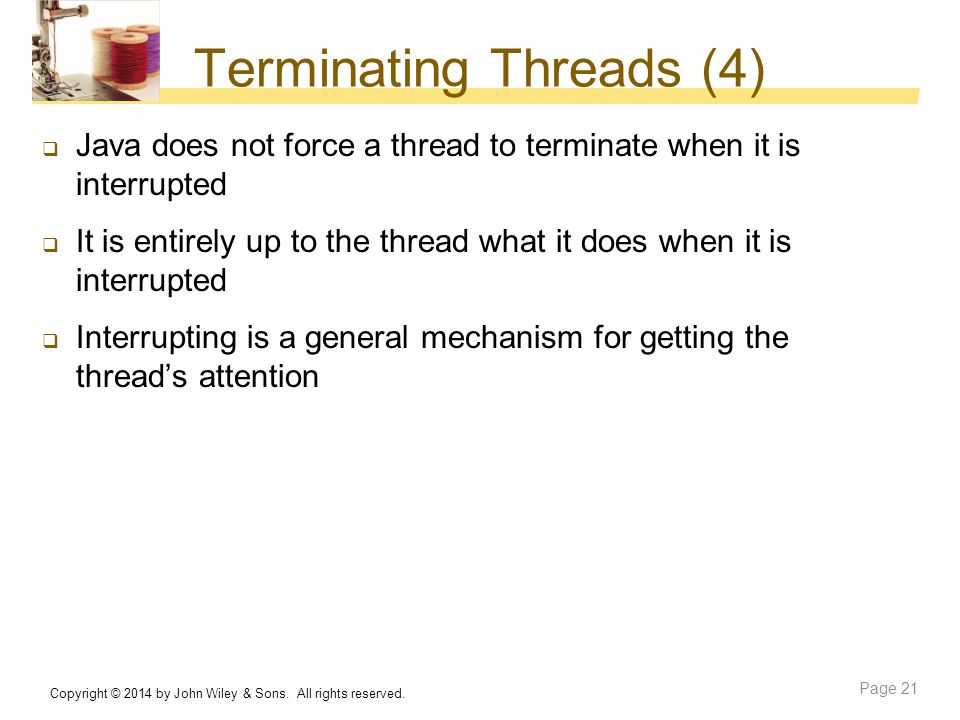 Terminating Threads (4)