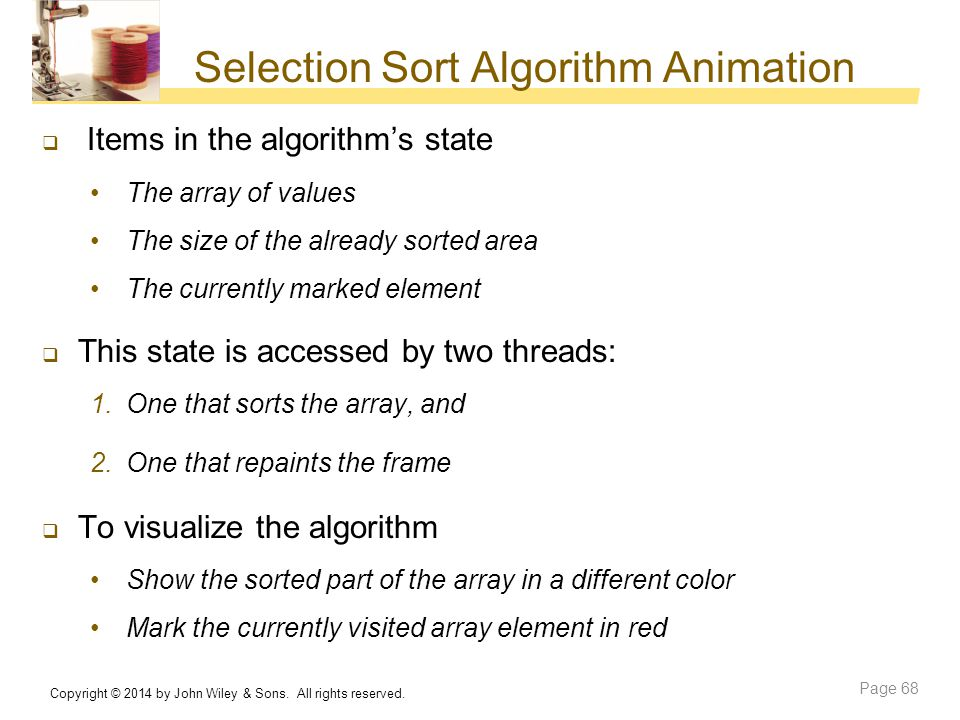Selection Sort Algorithm Animation