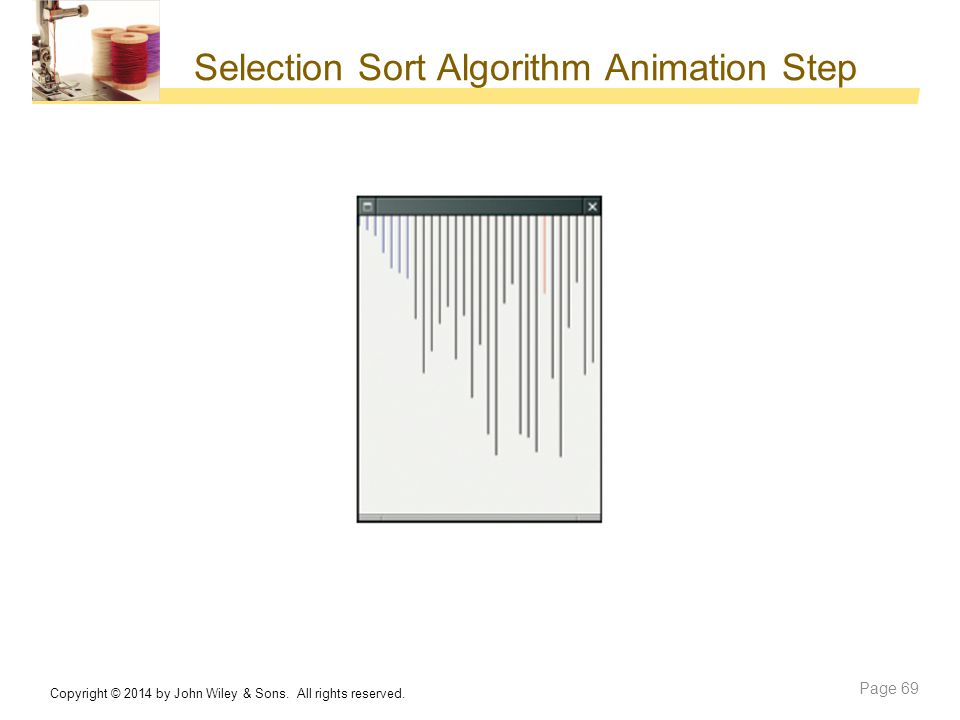 Selection Sort Algorithm Animation Step