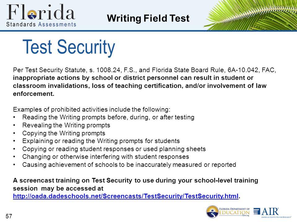 Test Security