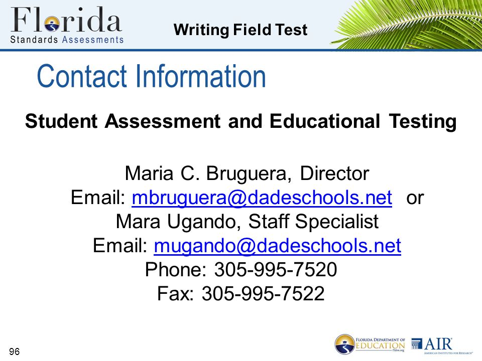 Student Assessment and Educational Testing