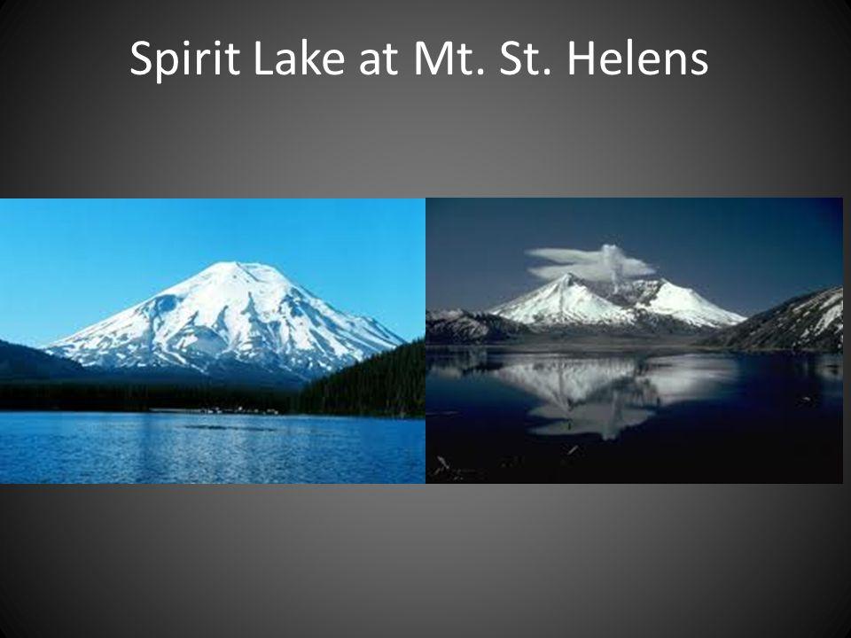 Spirit Lake at Mt. St. Helens