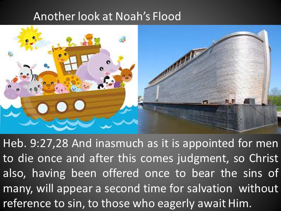 Another look at Noah's Flood