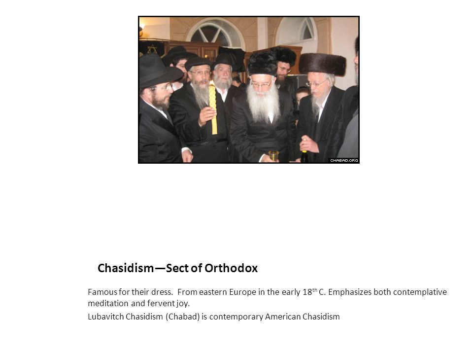 Chasidism—Sect of Orthodox
