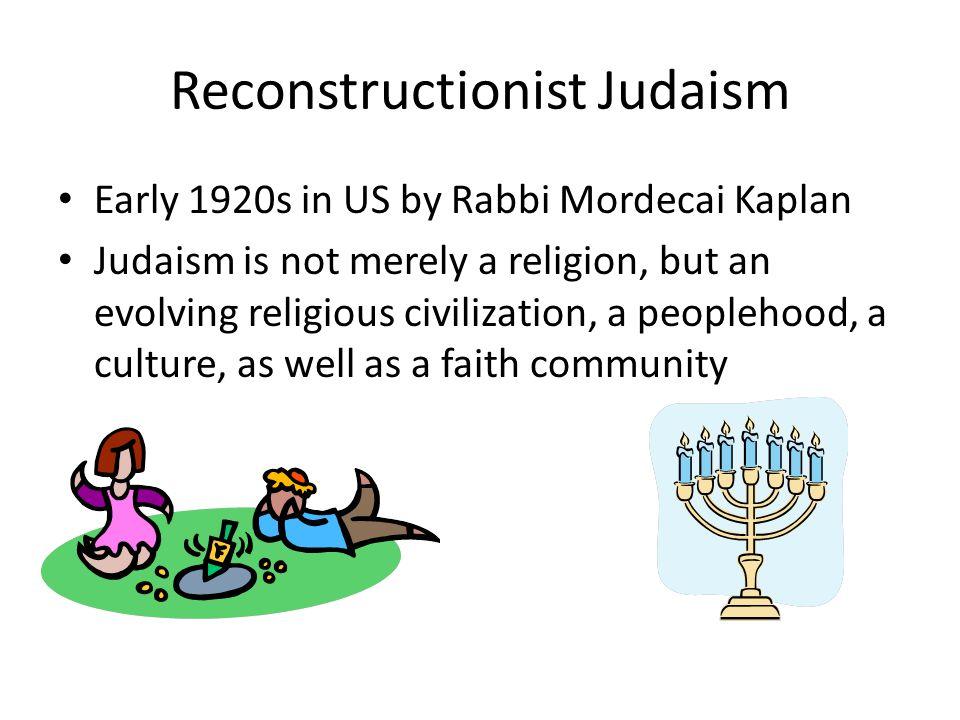Reconstructionist Judaism