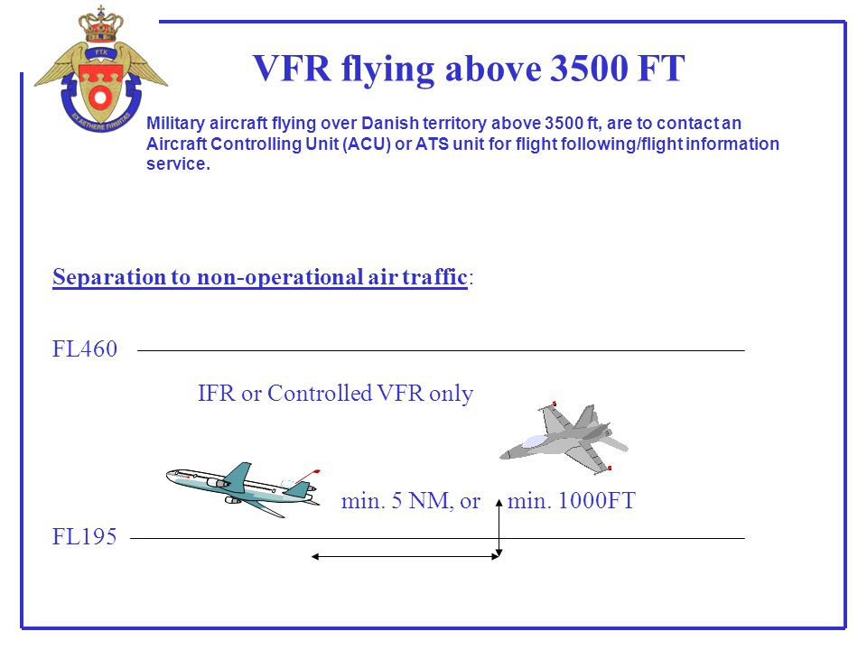 IFR or Controlled VFR only