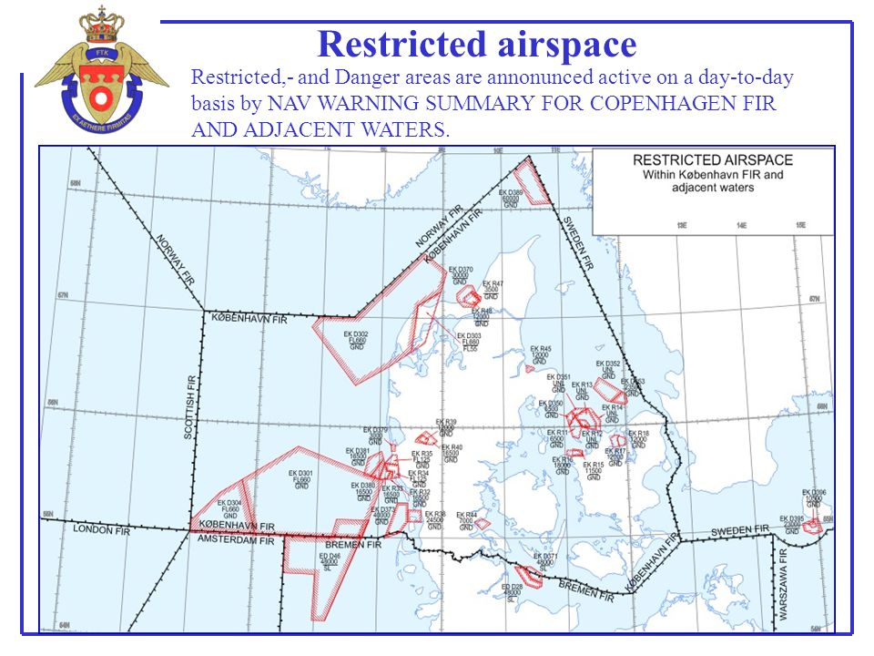 Restricted airspace