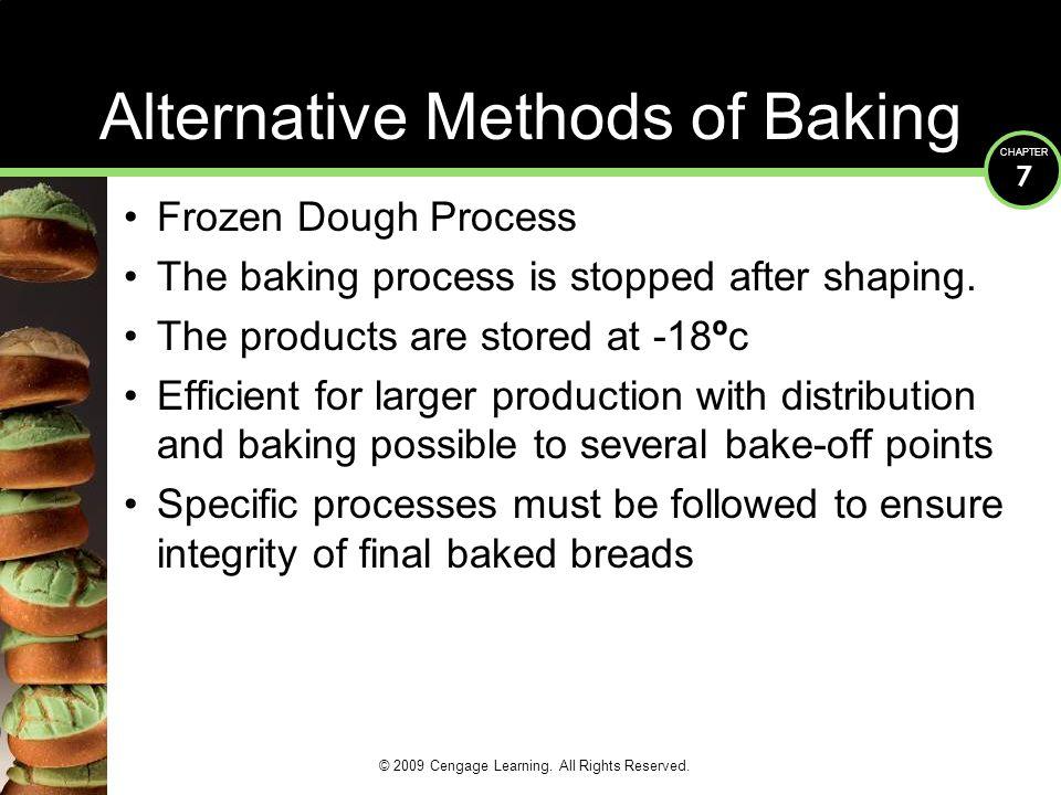 Alternative Methods of Baking