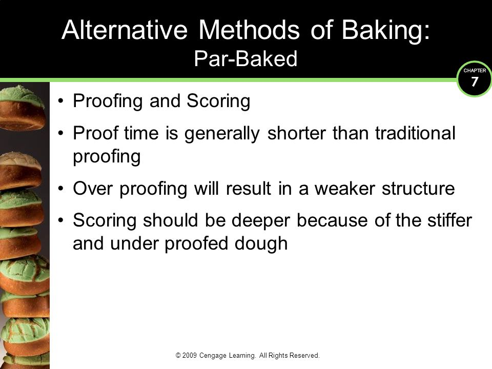 Alternative Methods of Baking: Par-Baked