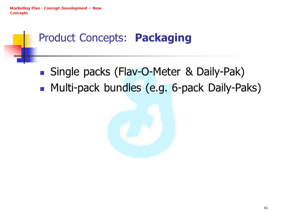 Product Concepts: Packaging