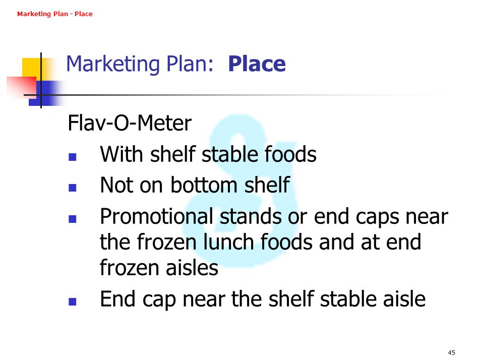 With shelf stable foods Not on bottom shelf