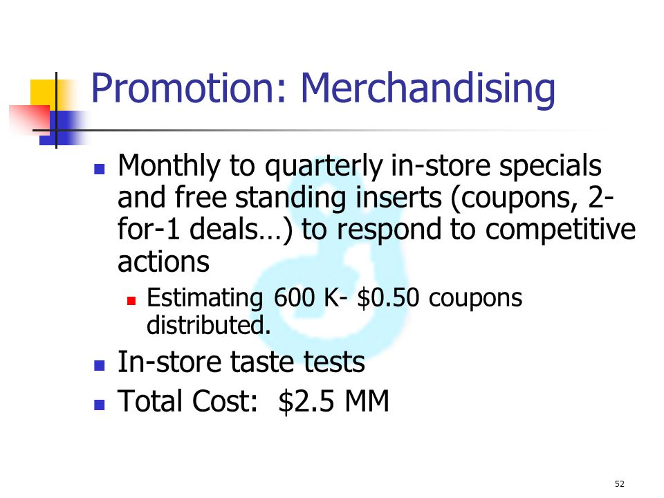 Promotion: Merchandising