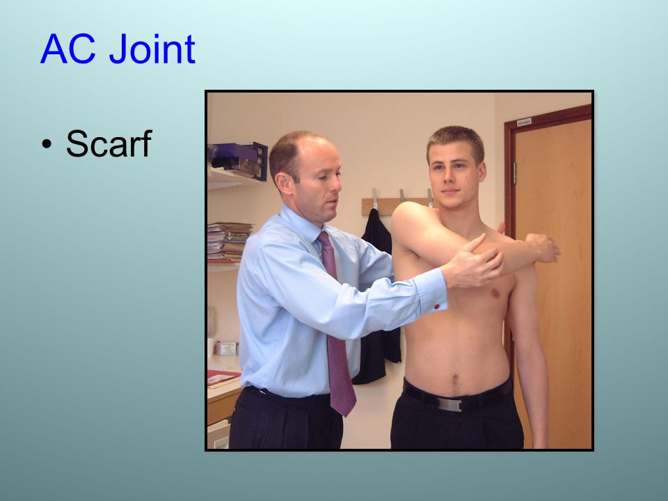 AC Joint Scarf