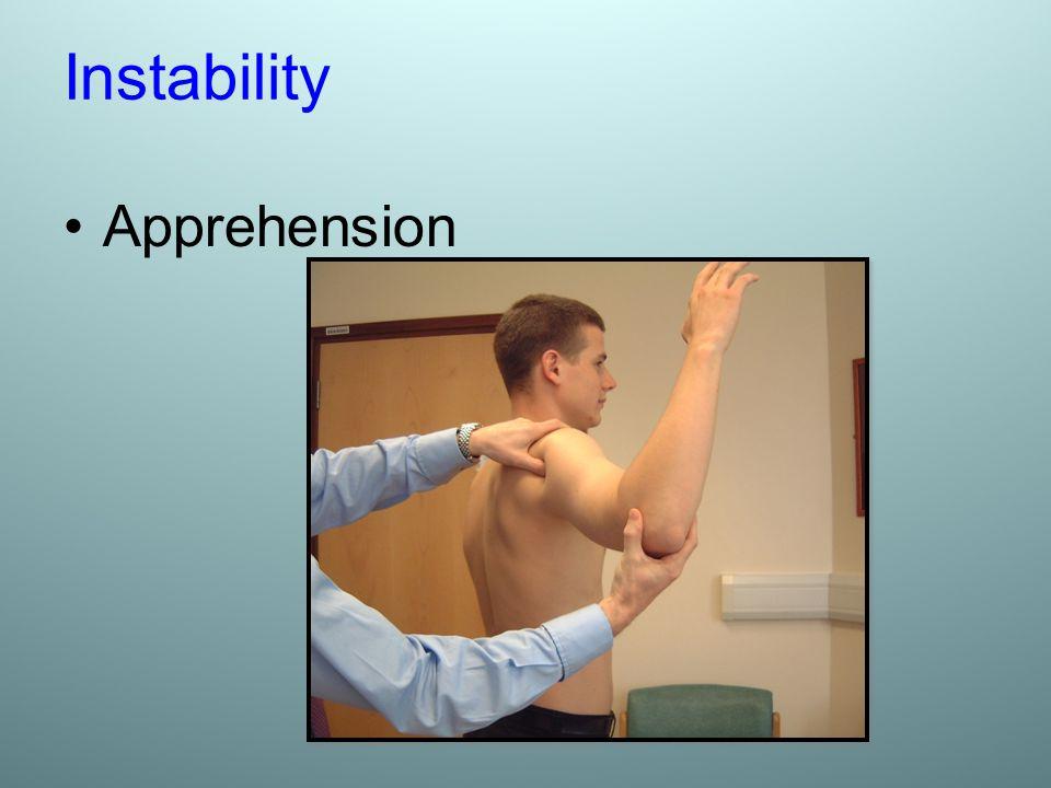 Instability Apprehension