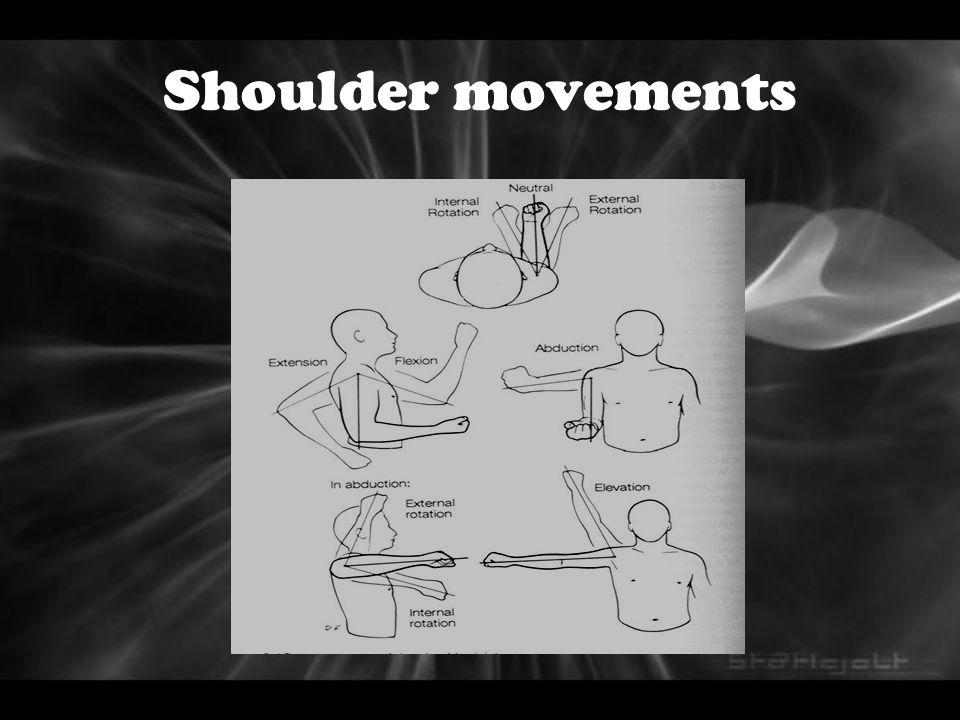Shoulder movements