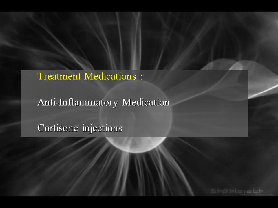 Treatment Medications :