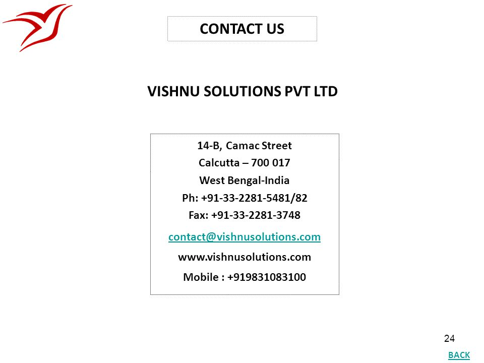 VISHNU SOLUTIONS PVT LTD