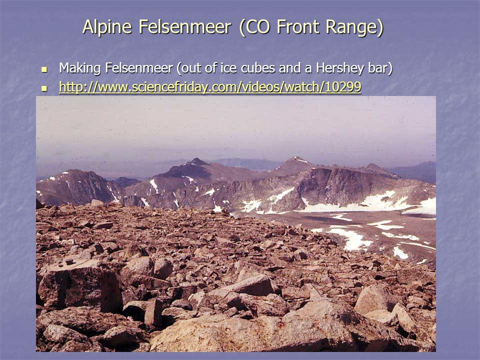 Alpine Felsenmeer (CO Front Range)