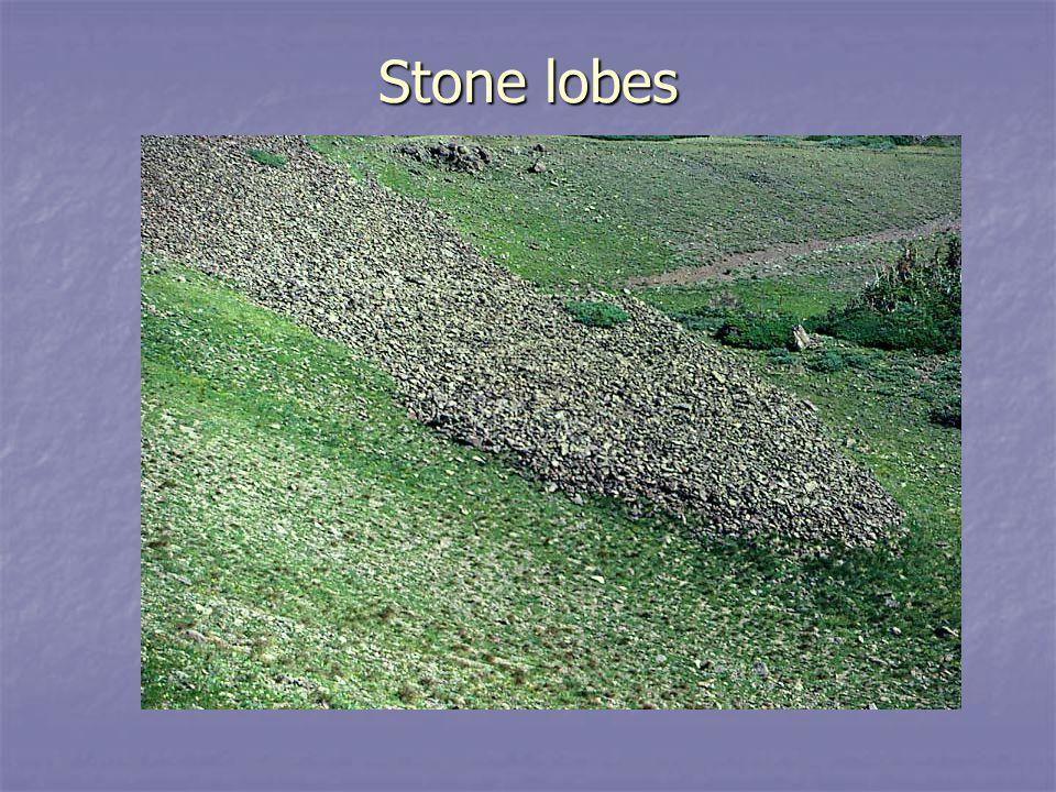 Stone lobes ESCI 307 Fall 2003 Lecture 18