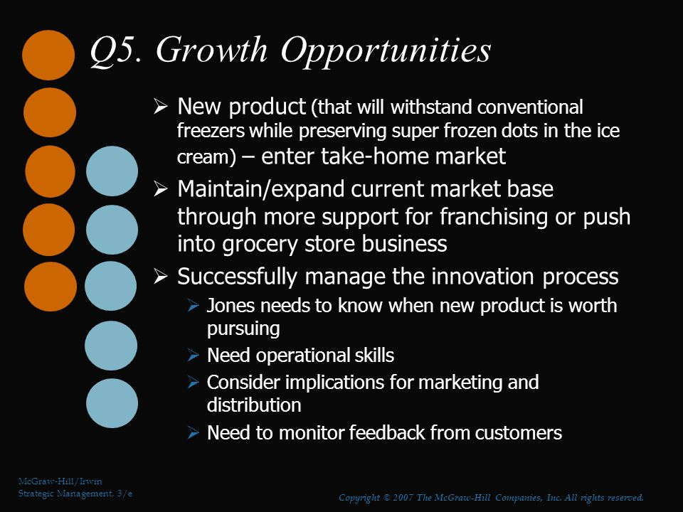 Q5. Growth Opportunities