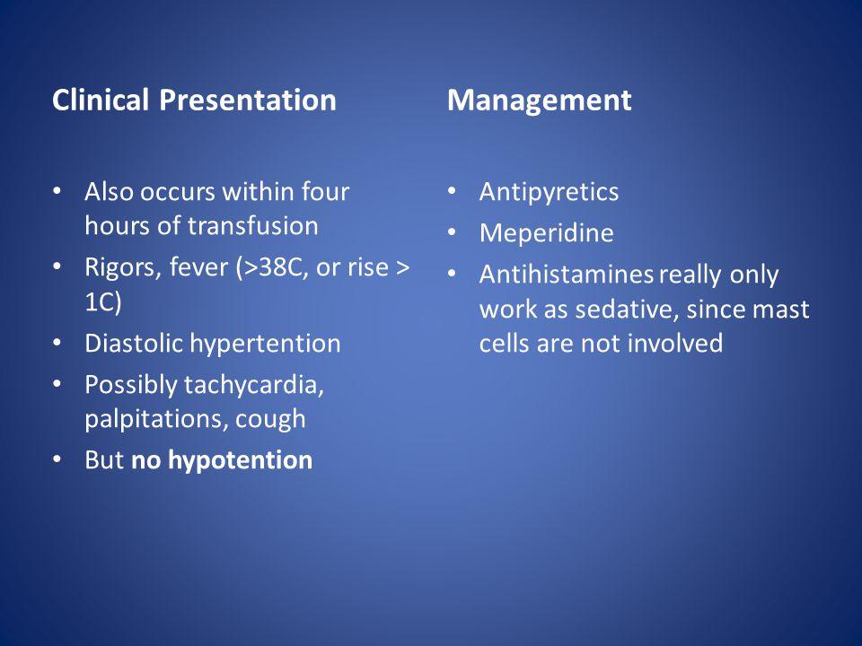 Clinical Presentation Management