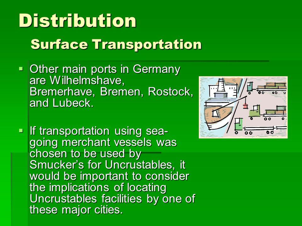 Distribution Surface Transportation