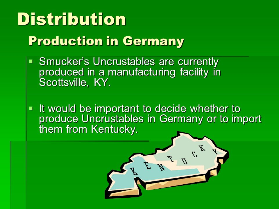 Distribution Production in Germany