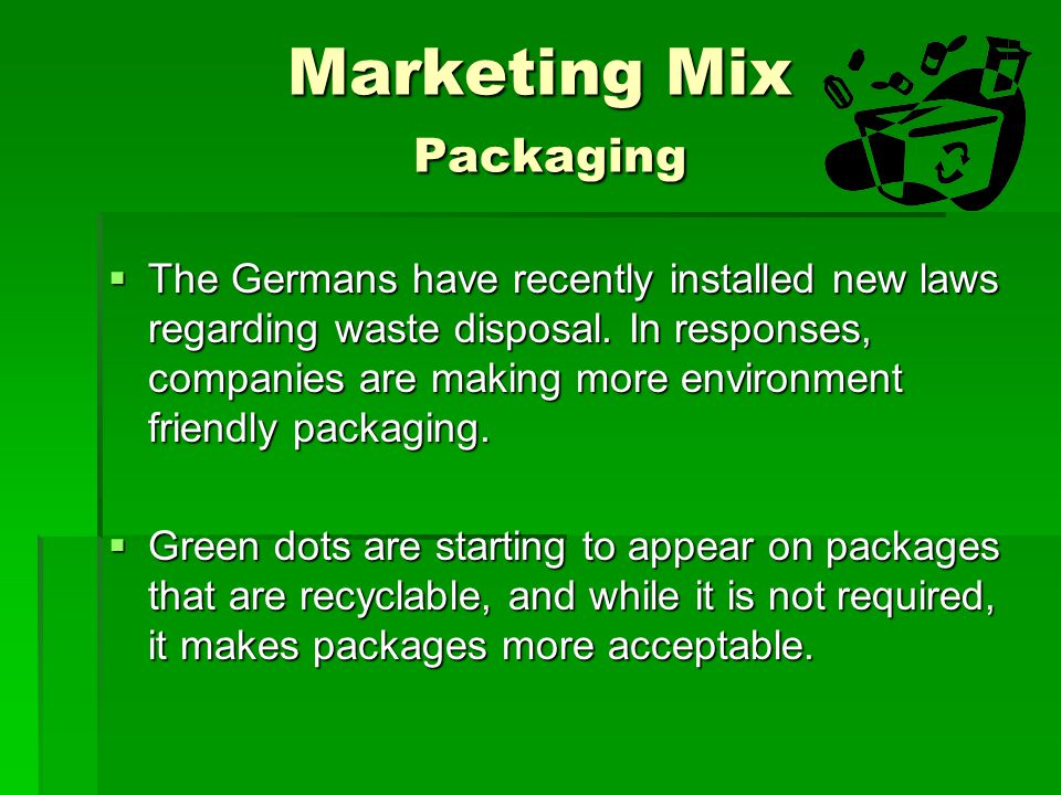 Marketing Mix Packaging