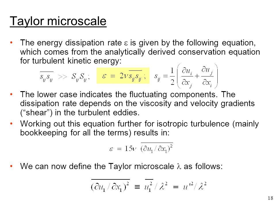 Taylor microscale