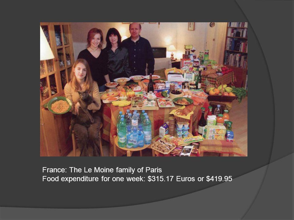 France: The Le Moine family of Paris