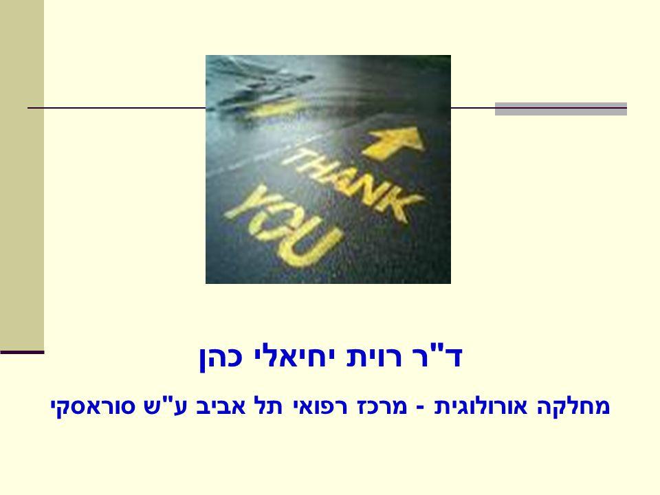 מחלקה אורולוגית - מרכז רפואי תל אביב ע ש סוראסקי