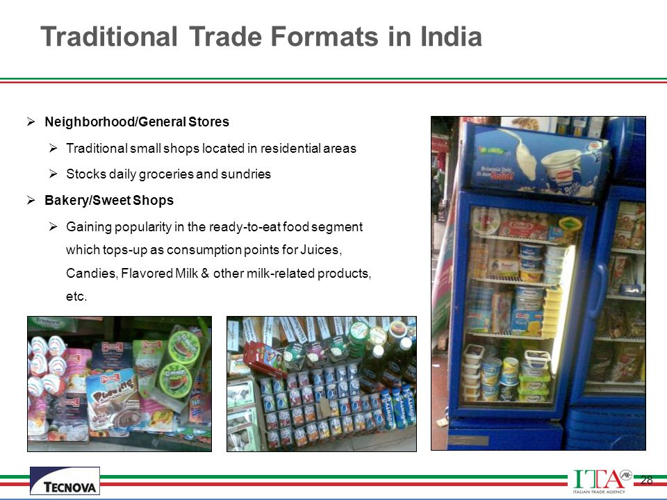 Traditional Trade Formats in India