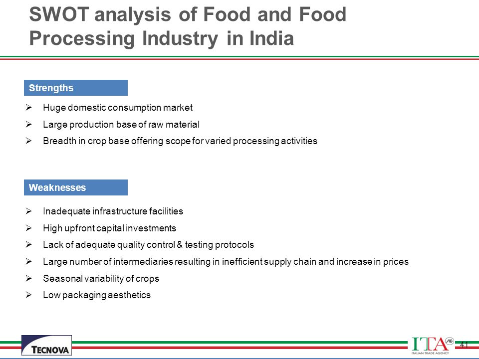 swot analysis of coffee industry in india Free essay: swot analysis of various sectors of indian economy  to  understand the coffee market in india we must first analyse the industry.